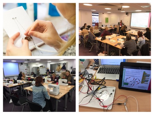 e-textiles at STEM Centre York