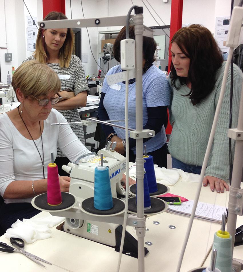 Fashion Enter training facility