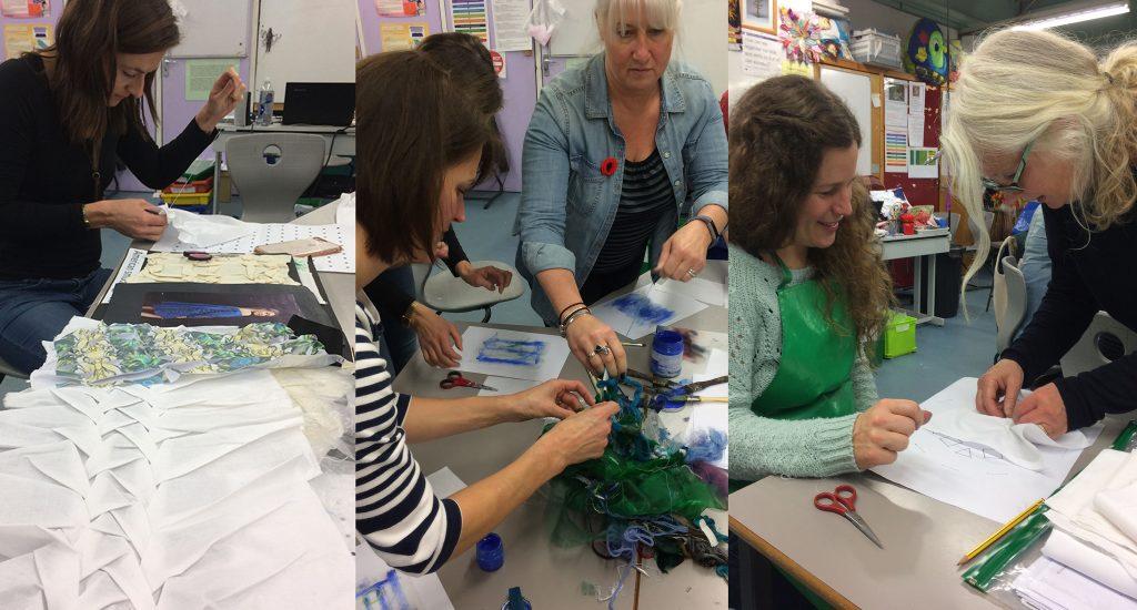 Textiles Skills Academy workshops