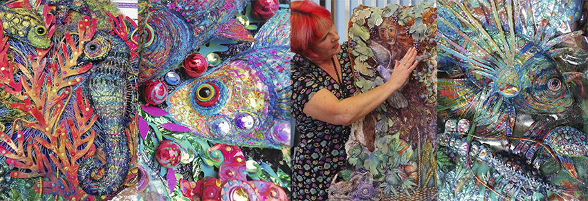 Textiles Workshop with Nikki Parmenter