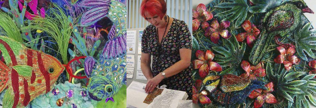 Nikki Parmenter Textile Artist work