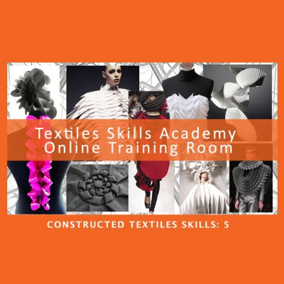 Textiles Skills Academy Online Course 5
