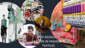 Poster for Free textiles resource
