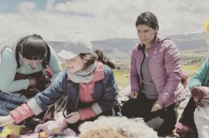 Hannah Jenkinson in Peru